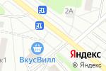 Схема проезда до компании Медея в Москве