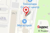 Схема проезда до компании Мегастрой в Серпухове