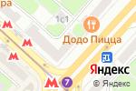 Схема проезда до компании Элеганс в Москве