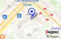 Схема проезда до компании ТФ ГЛОБАЛ ЛЕНД в Москве