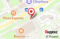 Схема проезда до компании McDonald`s в Подольске