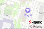 Схема проезда до компании Royal в Москве