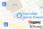 Схема проезда до компании ВЕСЕЛЯНДИЯ в Москве