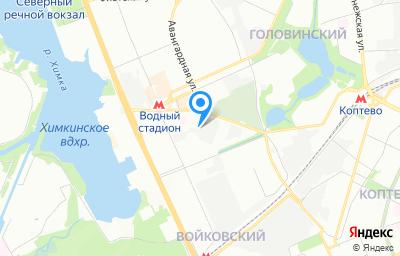 Местоположение на карте пункта техосмотра по адресу г Москва, ш Головинское, д 10 стр 3