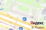 Схема проезда до компании Алкомаркет в Москве