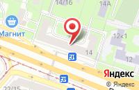 Схема проезда до компании Техинформреклама в Москве
