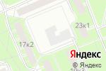 Схема проезда до компании ГПУ ИПКНЕФТЕХИМ в Москве