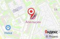 Схема проезда до компании Ателье на ул. 43 Армии в Подольске
