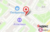 Схема проезда до компании Союз Здоровье Нации в Москве