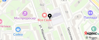 AutoZip-Market на карте Москвы