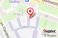 Схема проезда до компании Орд-Медиа в Москве