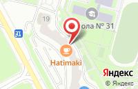 Схема проезда до компании Хатимаки в Подольске