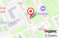 Схема проезда до компании Фортуна в Москве