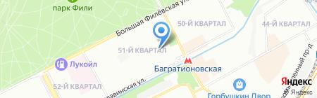 Сервис-запчасть на карте Москвы
