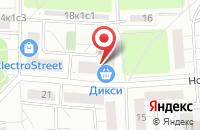 Схема проезда до компании Транк в Москве