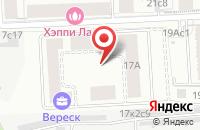 Схема проезда до компании Полиграмм в Москве