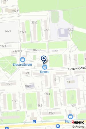 КАФЕ БЕЛАЯ СОВА на карте Москвы