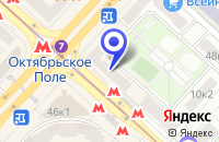 Схема проезда до компании ЦЕНТР ДОСУГА АТОМ в Москве