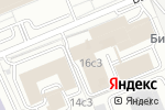 Схема проезда до компании Фортис Металл и Дизайн в Москве