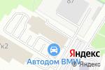 Схема проезда до компании Llumar в Москве