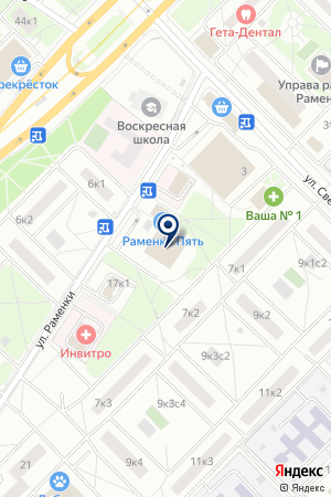 ДК ВЫСОТНИК на карте Москвы