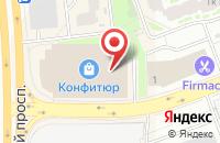 Схема проезда до компании Kosa Krasa в Долгопрудном