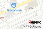 Схема проезда до компании Шиномонтажная мастерская на Кронштадтском бульваре в Москве