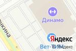 Схема проезда до компании Сюгё Додзё в Москве