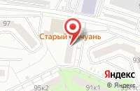 Схема проезда до компании Оксидатор в Москве