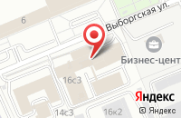 Схема проезда до компании Конвест в Москве