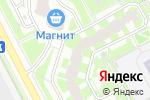Схема проезда до компании Планета Здоровья в Подольске