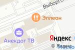 Схема проезда до компании Контакт Дизайн в Москве