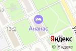 Схема проезда до компании Темп в Москве
