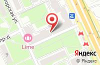 Схема проезда до компании Техсистема в Москве