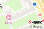 Схема проезда до компании Марс-Меркурий в Москве