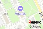 Схема проезда до компании Пожарное дело в Москве