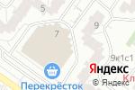 Схема проезда до компании Мастер.on в Москве