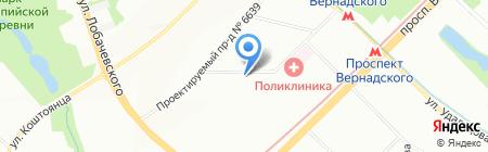 FM-Пицца на карте Москвы