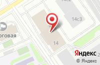 Схема проезда до компании Первая Спортивная Строительная Компания в Москве