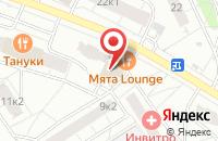 Схема проезда до компании Промоакция в Москве