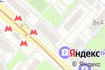Схема проезда до компании Coffee Woods в Москве