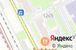 Схема проезда до компании Светлячок в Москве