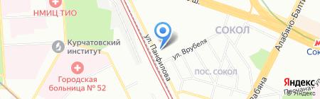 Буффало на карте Москвы