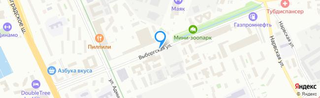 Выборгская улица