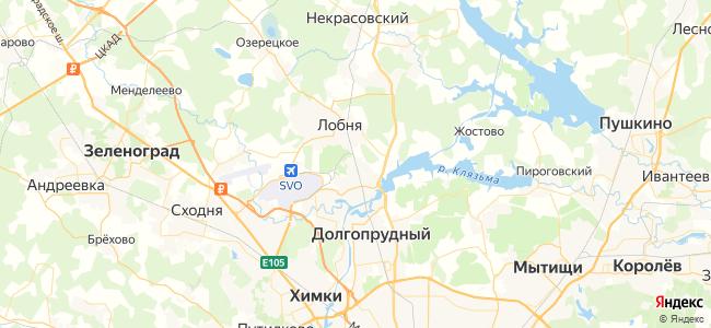 Москва Белорусская - Морозки электричка в Лобне