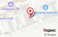 Схема проезда до компании Бизнес-Мониторинг в Москве