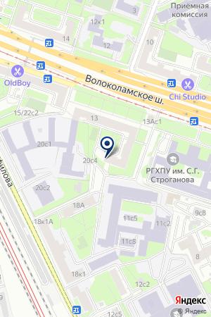 РЕДАКЦИОННО-ИЗДАТЕЛЬСКИЙ ЦЕНТР АВИАНТИК на карте Волоколамска