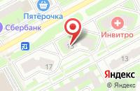 Схема проезда до компании Магазин цветов на Ленинградской в Подольске