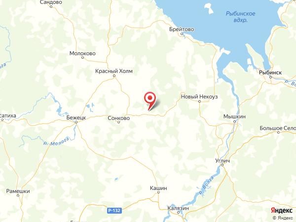 деревня Павлово на карте