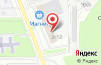 Схема проезда до компании Канцта в Москве